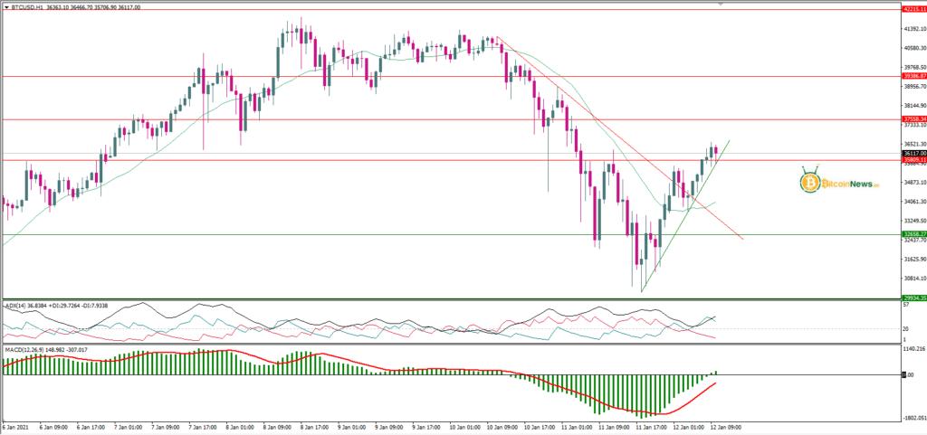 تحليل سعر البيتكوين اليوم مقابل الدولار 12 يناير